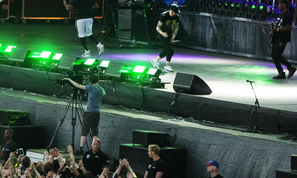 Fans raser etter Eminem-konsert