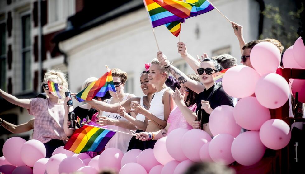 OMDISKUTERT: Pride-paraden. Her fra Oslo i 2015. Foto: Thomas Rasmus Skaug / Dagbladet
