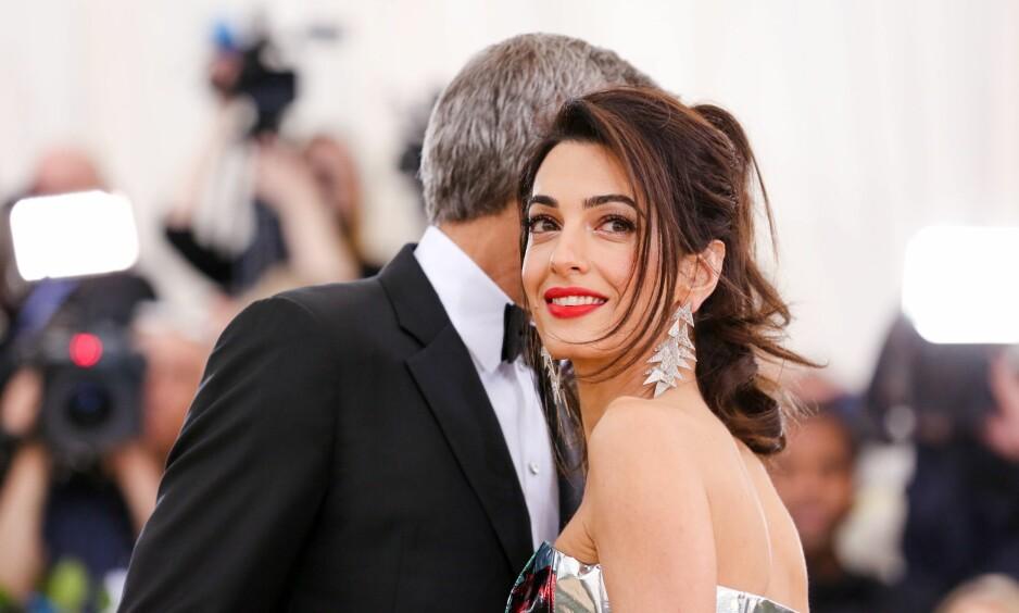 PÅ TRONEN: Menneskerettighetsadvokat Amal Clooney var et stort navn lenge før hun fikk sitt nåværende etternavn. Veien til topps har vært preget av både opp- og nedturer. Foto: NTB scanpix