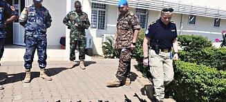 Slik opererer norsk politi i Afrikas farligste land