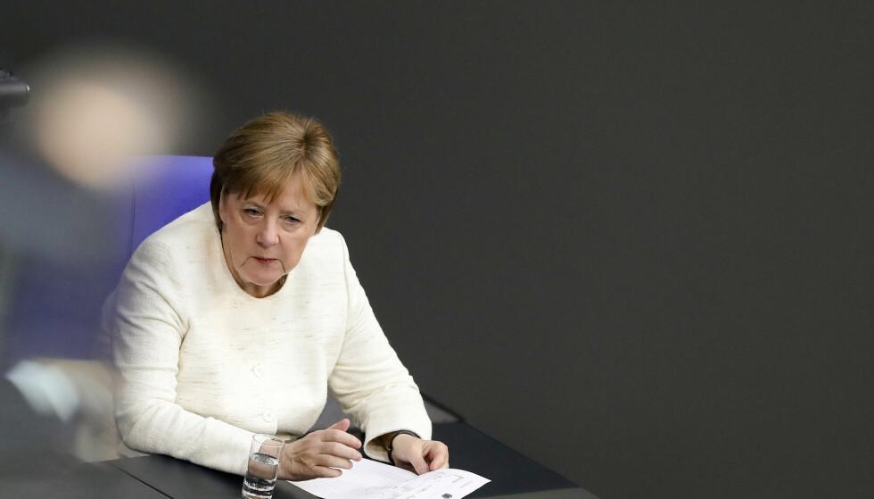 DIPLOMATI: Dagen etter Angela Merkel var i møte med Kinas statsminister, Li Keqiang, ble Liu Xia løslatt. Foto: Markus Schreiber / AP / NTB Scanpix
