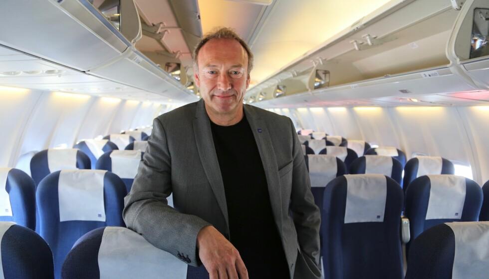 Tar saken: SAS og pressesjef Knut Morten Johansen vil igjen kontakte handlingselskapet på Gardermoen for å be dem være varsom med pre-booking på varme sommerdager. Foto: Odd Roar Lange/The Travel Inspector