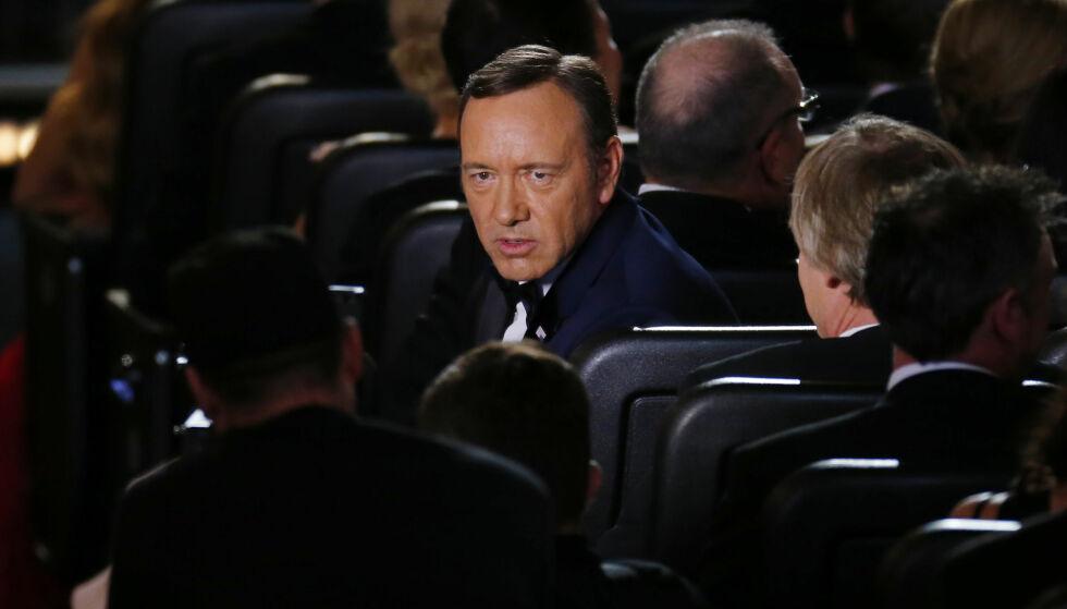 KORTHUSET SOM FALT: Den Oscar-belønnede skuespilleren Kevin Spacey var en av mange som ble felt i forbindelse med #metoo-kampanjen. Her avbildet i 2013. Foto: NTB Scanpix