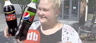 Vi har smakt på den nye Pepsi Max med lime - kan den måle seg med Coca-Cola Zero sitron?