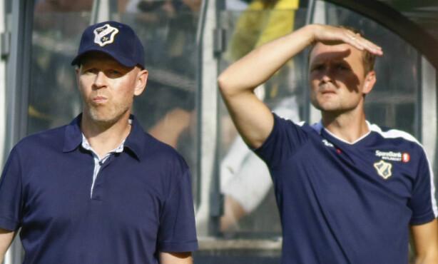BARE NESTEN: Det ble null poeng på Henning Berg i debuten som Stabæk-trener. Foto: Tor Erik Schrøder / NTB scanpix