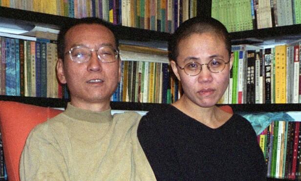 VANT FREDSPRIS: Liu Xiaobo vant Nobels fredspris i 2010. Han døde i fangenskap i fjor, og fikk dermed aldri motta prisen. Nå har kona hans, Liu Xia, ankommet Europa etter åtte år i husarrest. Foto: Privat / AFP / NTB Scanpix