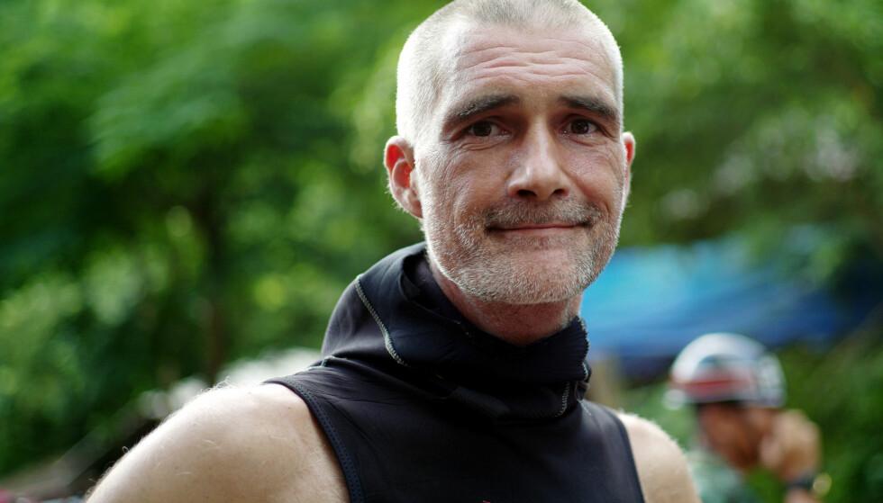 EKSTREMT FARLIG: Ivan Karadzic er en av dykkerne som deltok i redningsaksjonen i Thailand. Han roser styrken til guttene som har sittet innesperret i grotta. Foto: NTB Scanpix