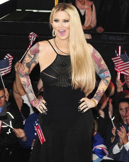 2015: Jenna Jameson avbildet i forbindelse med deltakelsen av «Big Brother». Hun røk ut av realitykonkurransen to dager før finalen. Foto: NTB Scanpix