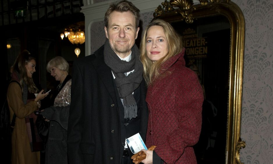 BLE FORELDRE IGJEN: Fredrik Skavlan og Maria Bonnevie har fått sitt tredje barn sammen. Foto: Andreas Fadum