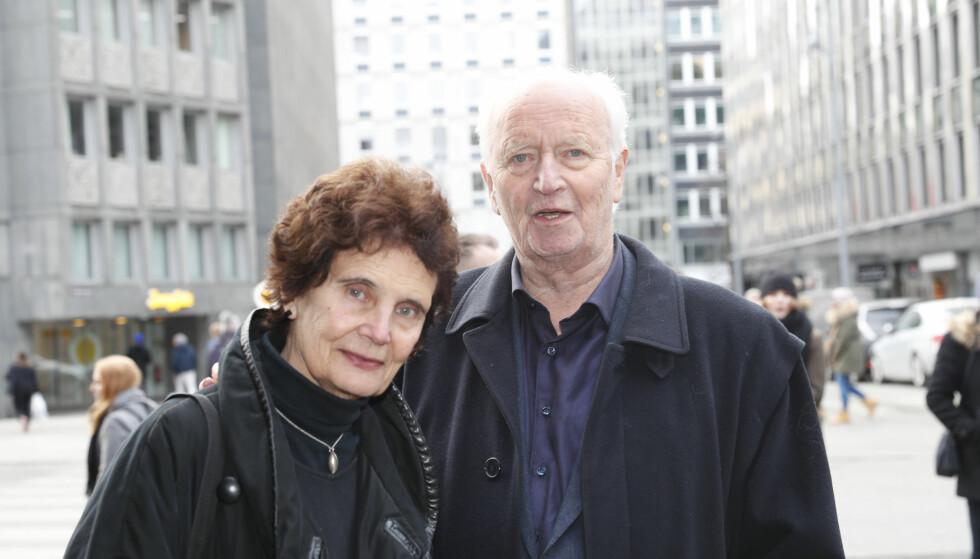 KJÆRESTER: I godt voksen alder fikk Thorvald oppleve kjærligheten på nytt. Filmskaperen Anja Breien ble et viktig lyspunkt da han trengte det som mest. Foto: Terje Bendiksby / NTB scanpix