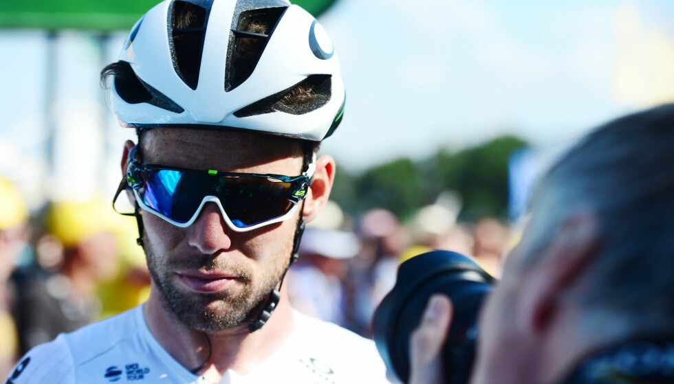 IKKE I TOPPEN: Mark Cavendish har vært langt unna seier så langt i Tour de France. Foto: SWpix.com/REX/Shutterstock (9760569o