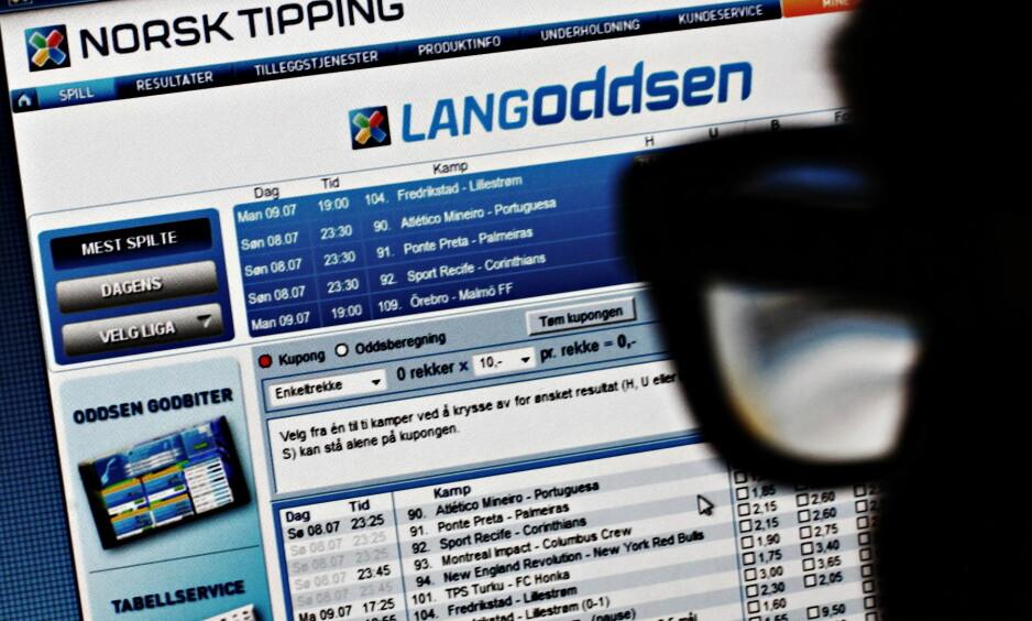 SLUTT PÅ MONOPOLET I SVERIGE: Etter at Svenska Spel har hatt et monopolsystem som vi i Norge har med Norsk Tipping, innfører de nå en lisensordning fra 1. januar 2019. Foto: Frank Karlsen