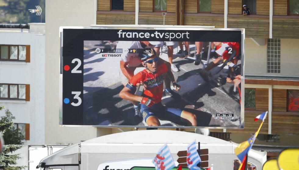 Nibali ute av Tour de France