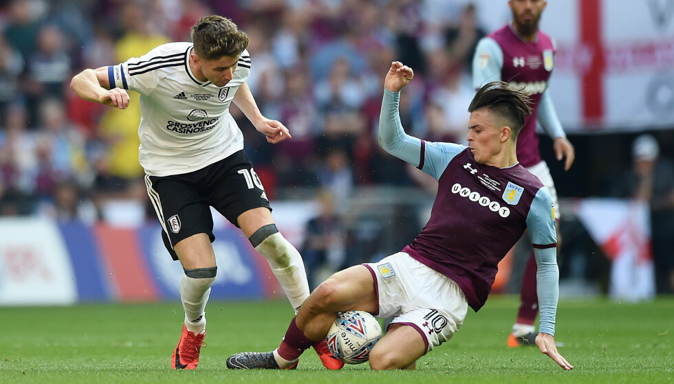 SATSER IGJEN: Jack Grealish er kraftig lenket bort fra Aston Villa. Kanskje kan nye investorer gjøre at talentet blir værende i klubben? Foto: NTB Scanpx
