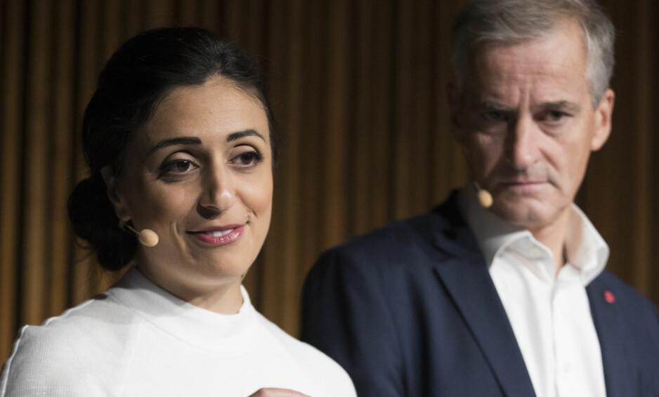 HETSES OG TRUES: Ap-politikere kalles for landssvikere og slikt som «Koran-Hadia» og «Judas Gahr Støre».   Foto: Berit Roald / NTB scanpix