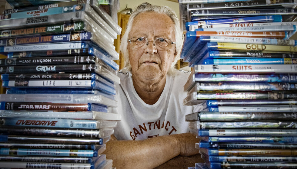 PIRATJEGER: I flere år har Willy Johansen og Norsk Videogramforening jaktet på ulovlige fildelere. Foto: Jørn H. Moen / Dagbladet