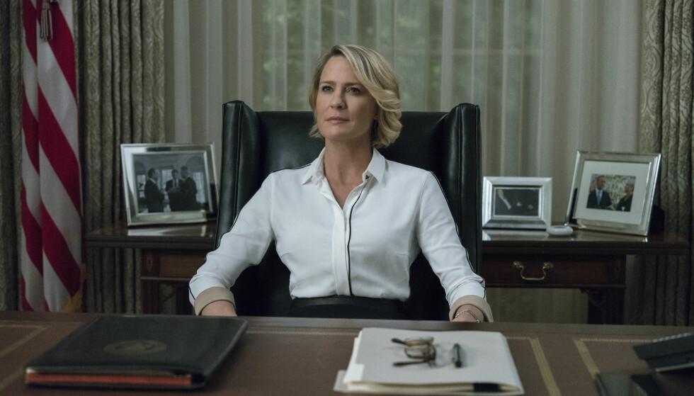 SEERFAVORITT: Netflix, med serier som «House of Cards» (bildet), er en TV-favoritt for mange nordmenn. Unge voksne foretrekker strømmegiganten foran både NRK og TV 2. Foto: Netflix