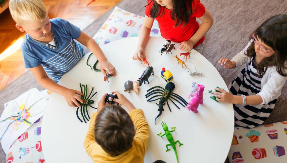 PRIVATE GJØR DET BRA: Hvordan kan de kommunale barnehagene få mer ut av pengene de bevilges, hvordan kan de arbeide for å tilpasse sin drift til hvert enkelt barns behov? spør artikkelforfatter. Foto: Ana Blazic Pavlovic / Shutterstock / NTB Scanpix