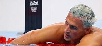 Amerikansk svømmestjerne utestengt etter eget sosiale medier-bilde