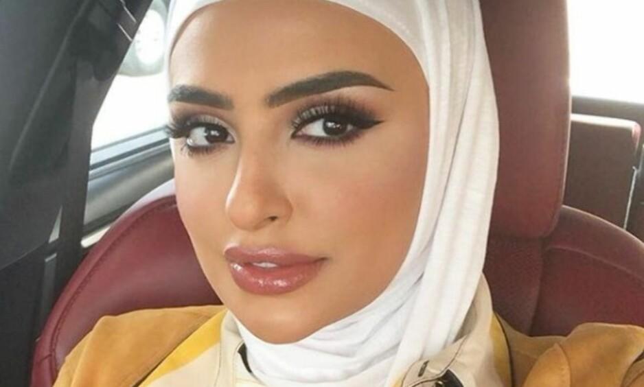 MOTTAR KRASS KRITIKK: Kuwaitiske Sondos Al Qattan delte sin mening om den nye loven for filippinske arbeidere i Kuwait. Det skulle hun kanskje ikke ha gjort. Foto: Instagram