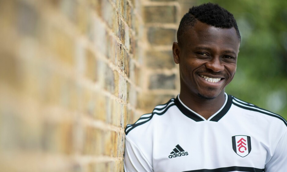 JOHANSEN-KAMERAT: Jean Michaël Seri valgte Fulham som neste destinasjon. Foto: Javier Garcia / BPI / REX / Shutterstock / NTB Scanpix