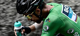 Sagan: – Det var min hardeste dag på sykkelen