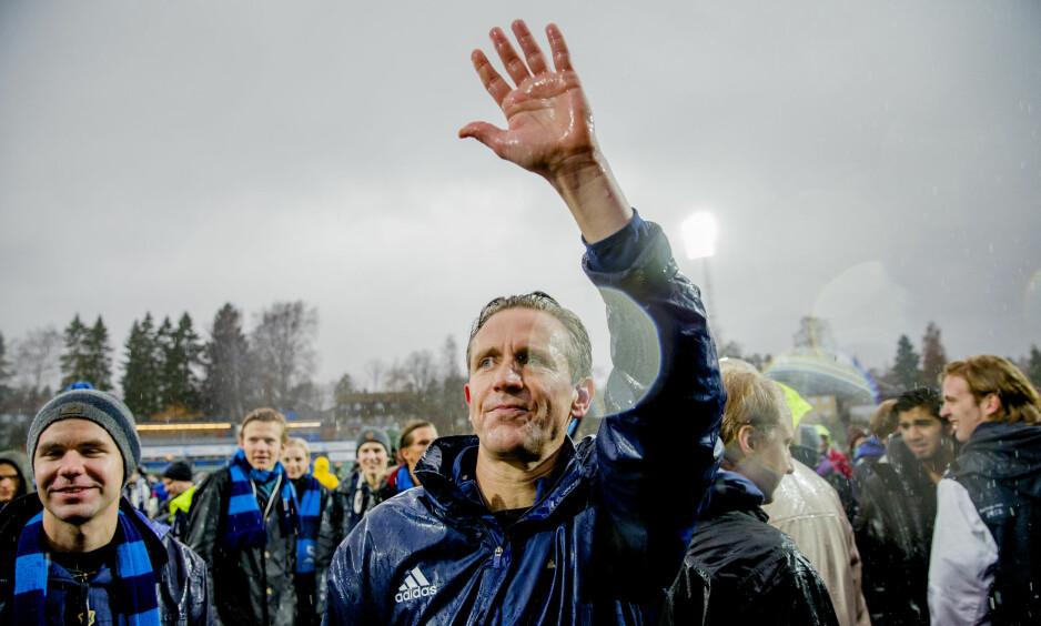 TIL LARVIK HÅNDBALLKLUBB: Petter Belsvik bytter ut fotballen med håndball. Her fra tida i Stabæk. Foto: Stian Lysberg Solum / NTB scanpix