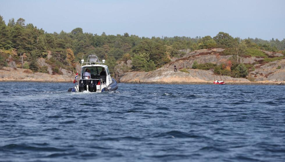OMKOM: Vibeke Skofterud ble funnet omkommet på øya St.Helena utenfor Arendal søndag. Foto: Elisabeth Grosvold
