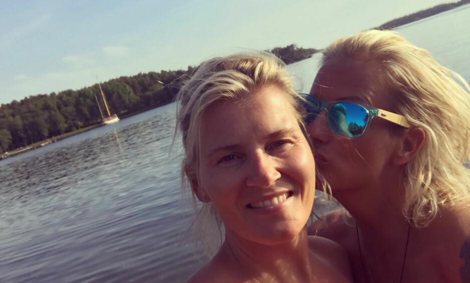 MELDTE HENNE SAVNET: Skofteruds kjæreste, Marit Stenshorne (44), meldte henne savnet lørdag kveld. Foto: Privat