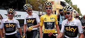 Team Sky tjente mer enn 46 ganger så mye i touren som Edvalds lag