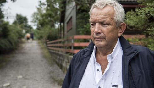 BESØKTE FUNNSTEDET: Fungerende ordfører i Hå kommune, Mons Skrettingland, på stedet Sunniva Ødegård ble funnet. Foto: Lars Eivind Bones / Dagbladet