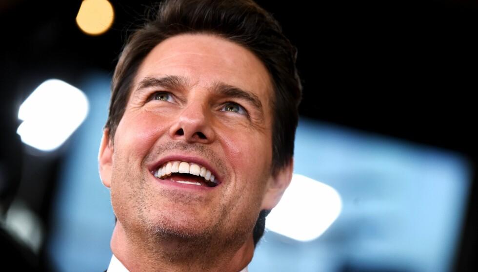 STJERNEGLANS: Tom Cruise har vært en ettertraktet skuespiller siden han slo gjennom på 80-tallet. Ifølge Forbes tjener han rundt 50 millioner dollar i året. Foto: NTB scanpix