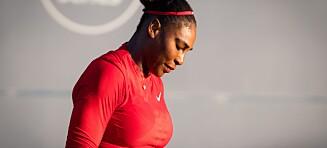 Karriereverste for Serena Williams