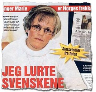 FAKSIMILE: I ukebladet Se og Hør i 2001 sto kvinnen fram som angrende synder. Intervjuet ble gjort da hun satt fengslet i Sverige.