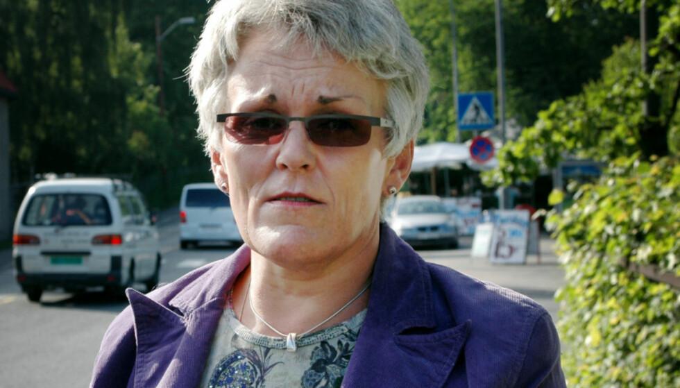 12 ÅR SIDEN: Marie Madeleine Larsen - alias Maria Kristoffersen - på Bygdøy sommeren 2005. Foto: Privat