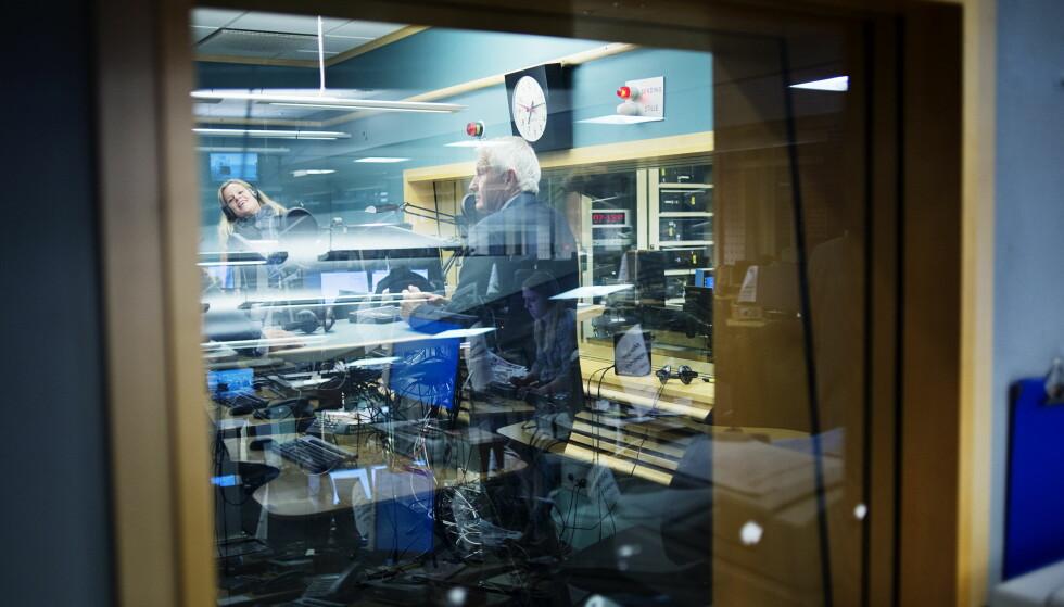 RADIONEDGANG: Færre nordmenn hører på radio enn på svært, svært lenge. Bare på ett år har 309 000 lyttere forsvunnet. Foto: Benjamin A. Ward / Dagbladet