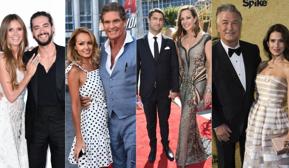 BARE ET TALL: Alder er ingen hindring for mange par i Hollywood. Foto: NTB Scanpix