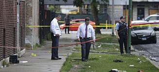 44 skutt på 14 timer i Chicago