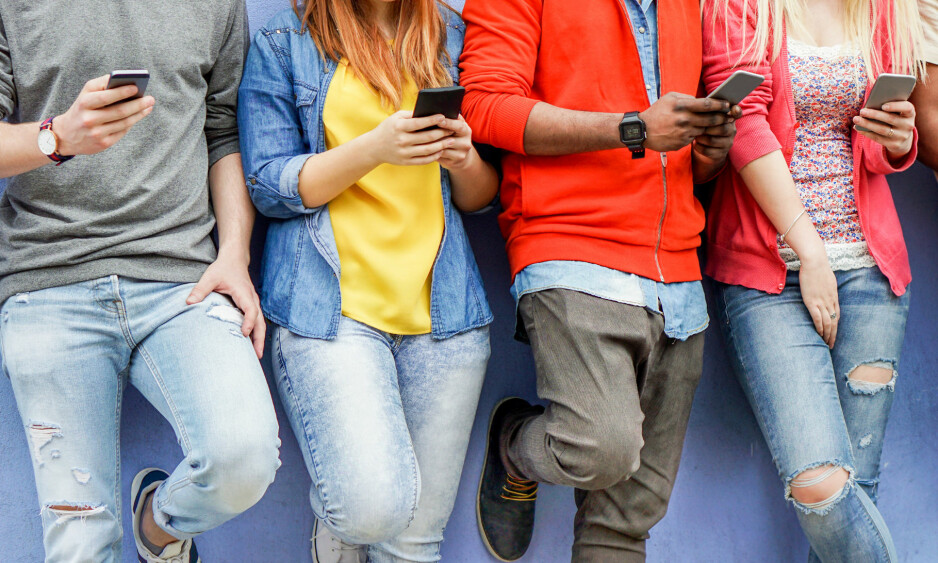 <strong>MOBBING:</strong> Kannik skole i Stavanger innførte i fjor mobilforbud i undervisningen. Det har gitt resultater, ifølge rektor. Illustrasjonsfoto: Shutterstock / NTB scanpix