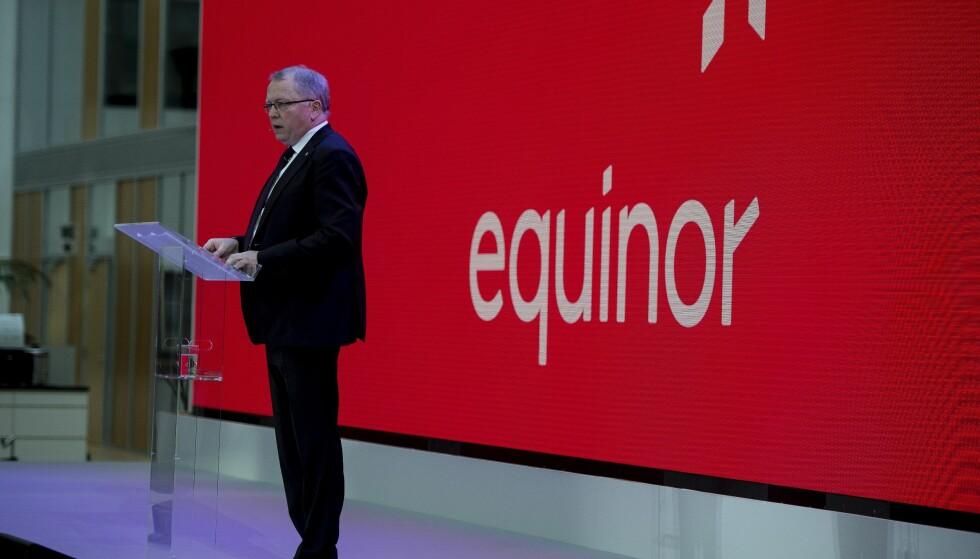 MÅ SKIFTE STRATEGI: Dersom Equinor skal gjere alvor av klimaengasjementet må dei vise at det stikker djupare enn Eldar Sætres festtaler, skriv artikkelforfattaren. Foto: NTB Scanpix