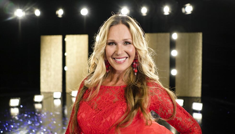 LØRDAGSDRONNING: Dorthe Skappel blir å se på dansegulvet til høsten. Foto: Joakim Kleven / TV 2