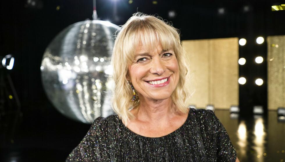 SKUESPILLER: Marianne Krogness er klar for dans. Foto: Joakim Kleven / TV 2