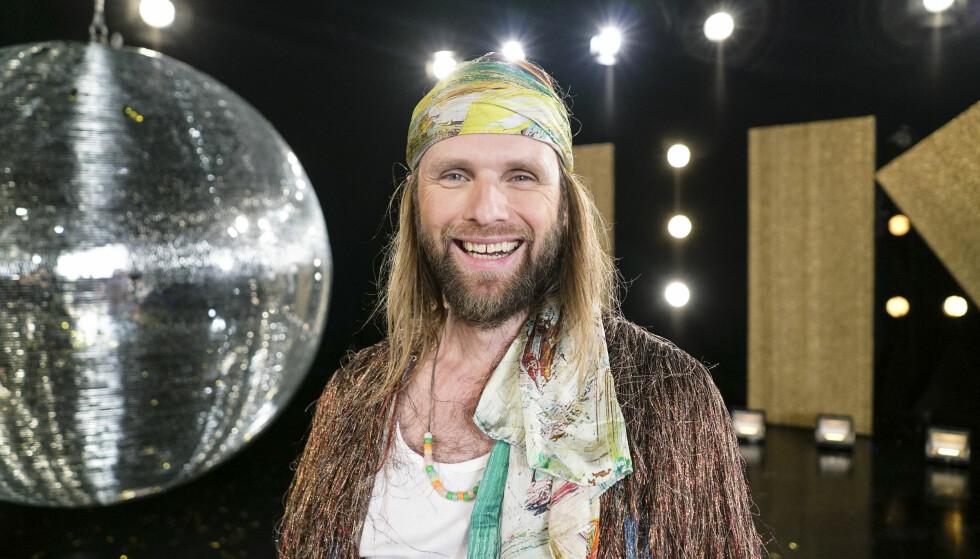 KLAR: Aune Sand er klar for dans. Foto: Joakim Kleven / TV 2