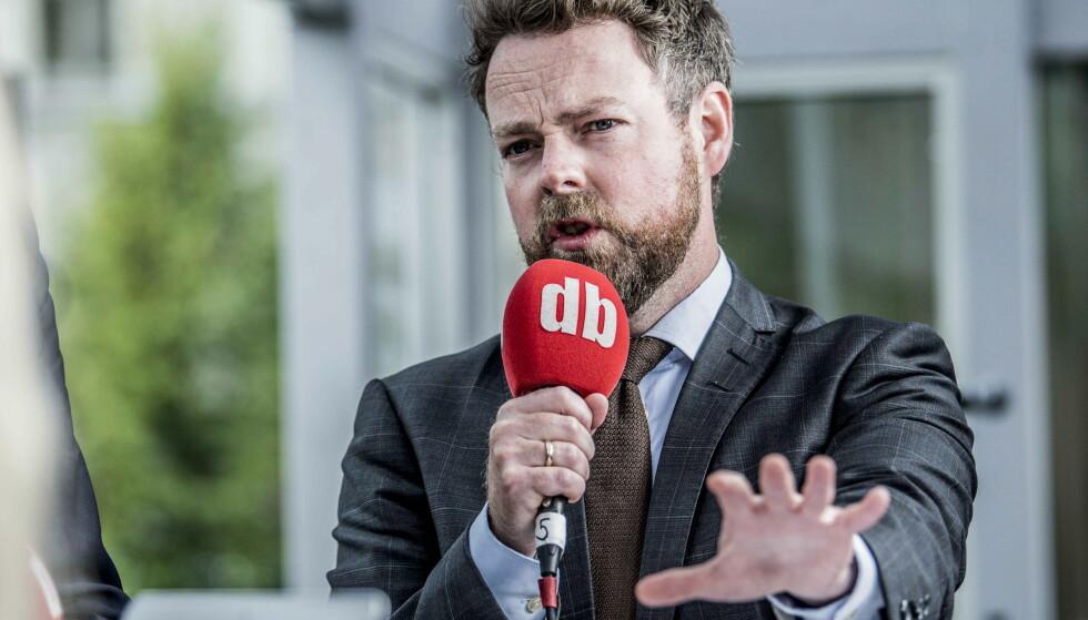 Bør lytte: Torbjørn Røe Isaksen får råd fra miljøbevegelsen. Foto: Thomas Rasmus Skaug / Dagbladet