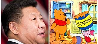 Derfor forbyr den kinesiske presidenten Ole Brumm