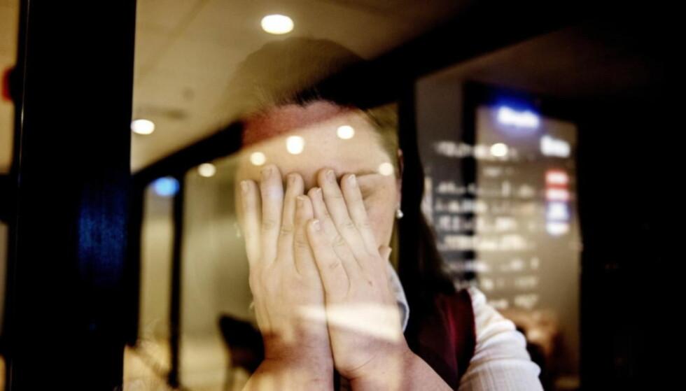 """FRA BBC TIL TØNSBERG TINGRETT: Mandag møter barnemor i BBCs dokumentar """"Norway's silent secret"""" i en såkalt tvistelov-sak i retten i Tønsberg for å få tilbake to av barna som er hos fosterforeldre. FOTO: SIV JOHANNE SEGLEM / DAGBLADET."""