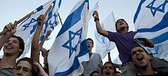 Å påpeike at Israel bryt folkeretten er ikkje demonisering