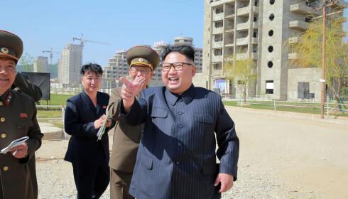 STOR FEIRING: Kim Jung-un har lovet at 70-årsjubileet for Nord-Korea vil bli en storslått begivenhet. Nasjonaldagen er 9. september. Foto: AFP/ NTB Scanpix