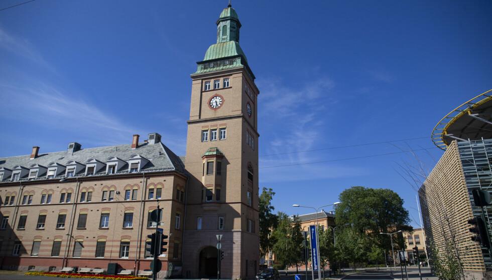 BREMSENE PÅ: Stortingsflertallet sier i øyeblikket nei til nytt storsykehus på Gaustad. Foto: Fredrik Hagen / NTB scanpix
