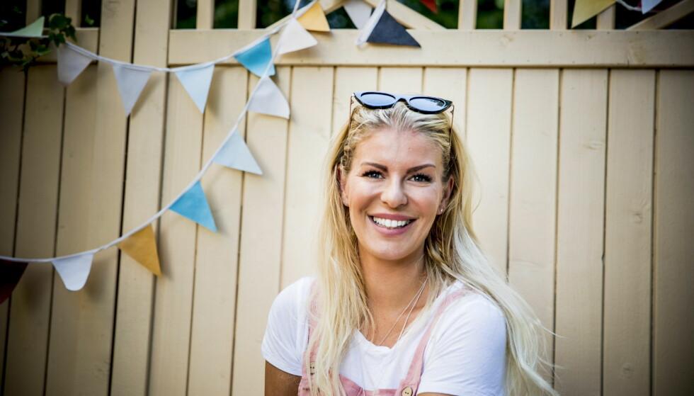 TV-MAMMA: I 2015 fikk Mari Haugersveen sønnen Henry. Nå nytes livet med sønnen, men Mari glemmer ikke den tøffe graviditeten. Foto: Christian Roth Christensen/Dagbladet